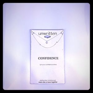 Necklace - I written - CONFIDENCE